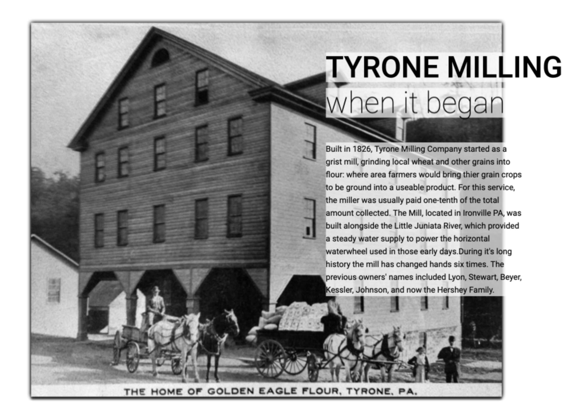 The Mill 1800